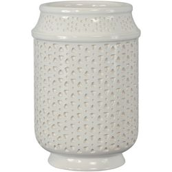 Creative Bath Nomad White Bathroom Tumbler