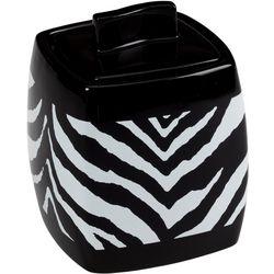 Creative Bath Zebra Covered Bathroom Jar