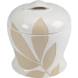 Creative Bath Shadow Leaves Jar