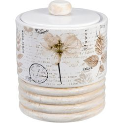 Creative Bath Pressed Leaves Jar