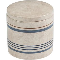 Creative Bath Ticking Stripe Jar