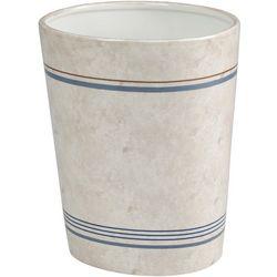 Creative Bath Ticking Stripe Wastebasket