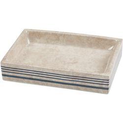 Creative Bath Ticking Stripe Soap Dish