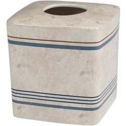 Ticking Stripe Boutique Tissue Holder