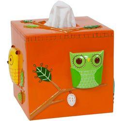 Creative Bath Give A Hoot Tissue Box Cover