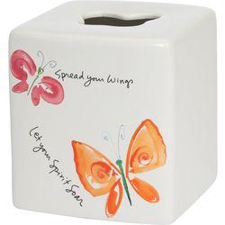 Creative Bath Flutterby Tissue Box Cover