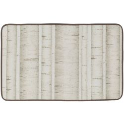 Creative Bath White Birch Bath Rug