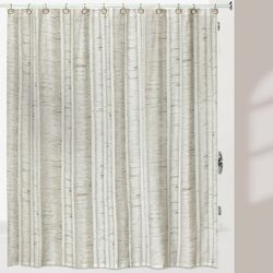 Creative Bath White Birch Shower Curtain