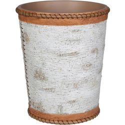 Creative Bath White Birch Wastebasket