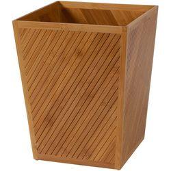 Creative Bath Spa Bamboo Wastebasket