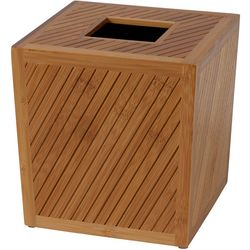 Creative Bath Spa Bamboo Tissue Box Cover