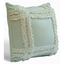 Dena Home Daydream Ruffle Decorative Pillow