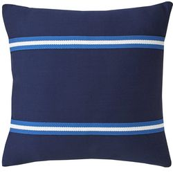 Southern Tide Dock Street Stripe Square Pillow