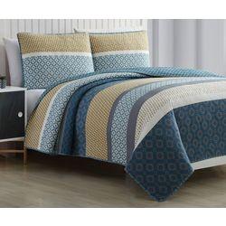 Estate Collection Alexis Reversible Quilt Set