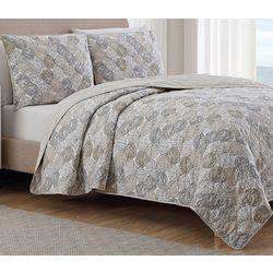 Coastal Design Captiva Reversible Quilt Set