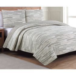 Estate Collection Algarve Reversible Quilt Set