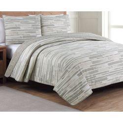 Estate Collection Algarve Reversible Quilt Set