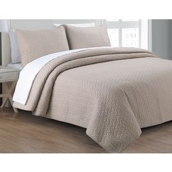 Estate Home Tristan Solid Quilt Set