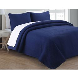 Estate Home Tristan Solid Quilt Set