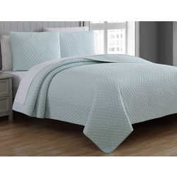 American Home Fashions Fenwick Quilted Quilt Set