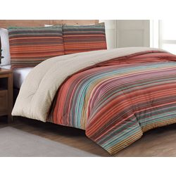 Estate Collection Taj Multi Reversible Comforter Set