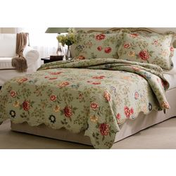 American Traditions Edens Garden Quilt Set