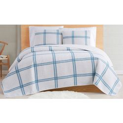 Cottage Classics Farmhouse Plaid Quilt Set