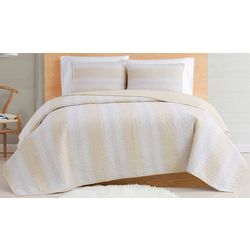 Cottage Classics Farmhouse Stripe Quilt Set