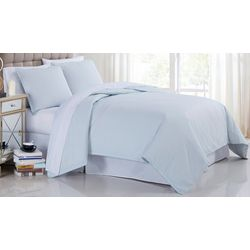 Cotton Percale 3-pc. Duvet Cover Set
