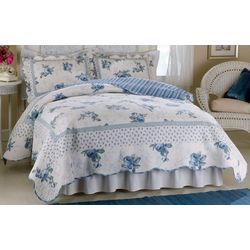 American Traditions Rose Blossom Full/Queen Quilt