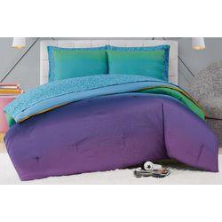 Material Girl Mermaid Ombre Comforter Set