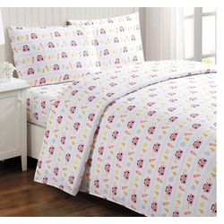 Laura Hart Kids Party Animals Sheet Set