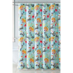 My World Kids Party Animals Shower Curtain