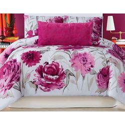 Christian Siriano Remy Floral 3-pc. Duvet Set