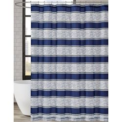 London Fog Watkins Stripe Shower Curtain