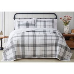 Cottage Classics Cottage Plaid Quilt Set
