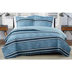 Mitchell Stripe Quilt Set
