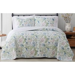 Cottage Classics Field Floral Quilt Set