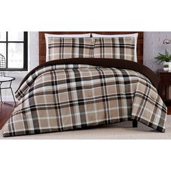 Truly Soft Paulette Plaid Comforter Set