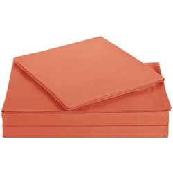 My World Kids Solid Microfiber Sheet Set