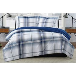 London Fog Nathan Houndstooth Comforter Set