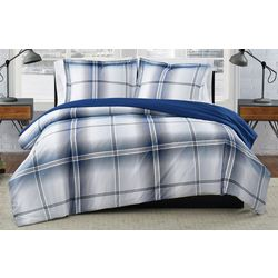 London Fog Nolan Houndstooth Duvet Cover Set