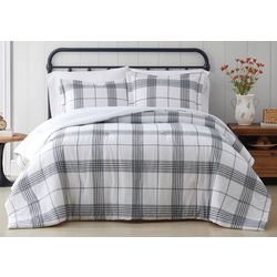 Cottage Classics Cottage Plaid Comforter Set
