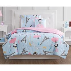 Kids Paris Princess Comforter Set