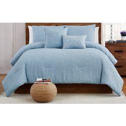 Style 212 Daisy Textured Comforter Set