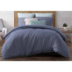 Brooklyn Loom Chambray Loft Comforter Set