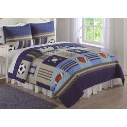 My World Kids Sports Quilt Set