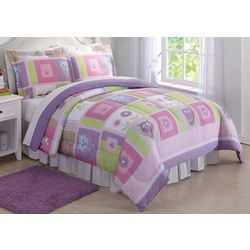 My World Kids Happy Owls Comforter Set