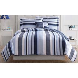 My World Kids Mason Stripe Quilt Set