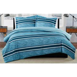 London Fog Mitchell Stripe Comforter Set